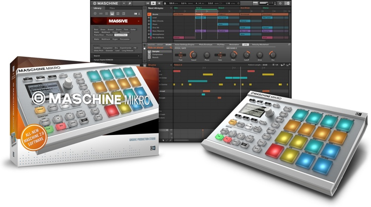 Native Instruments Maschine Mikro - White image 1