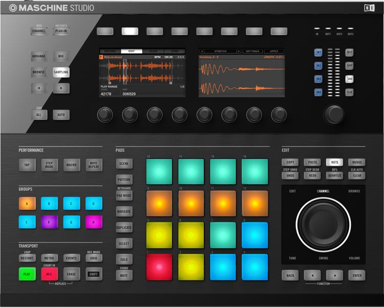 Native Instruments Maschine Studio - Black image 1