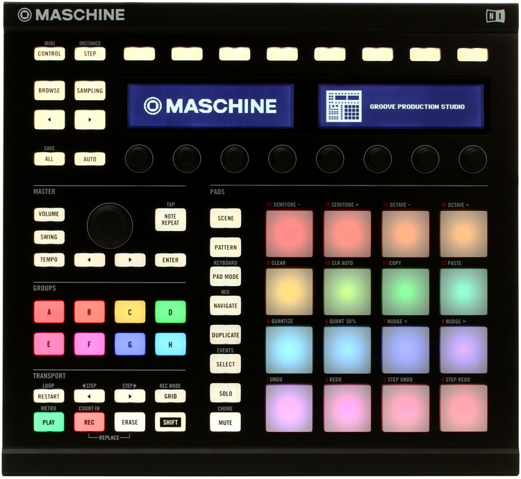 Native Instruments Maschine - Black image 1