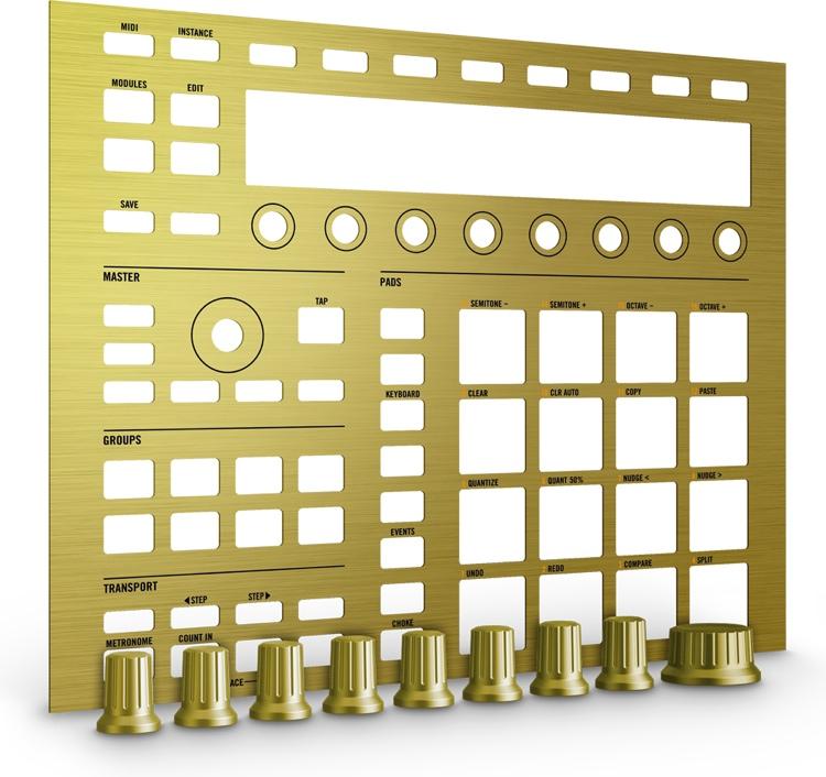Native Instruments Maschine Custom Kit - Solid Gold image 1