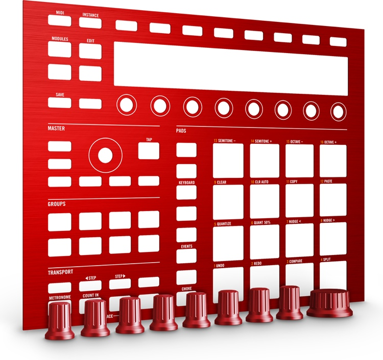 Native Instruments Maschine Custom Kit - Dragon Red image 1