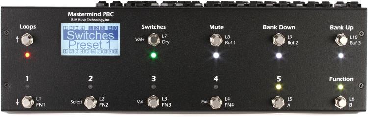RJM Music Mastermind PBC 10-Loop Switcher image 1