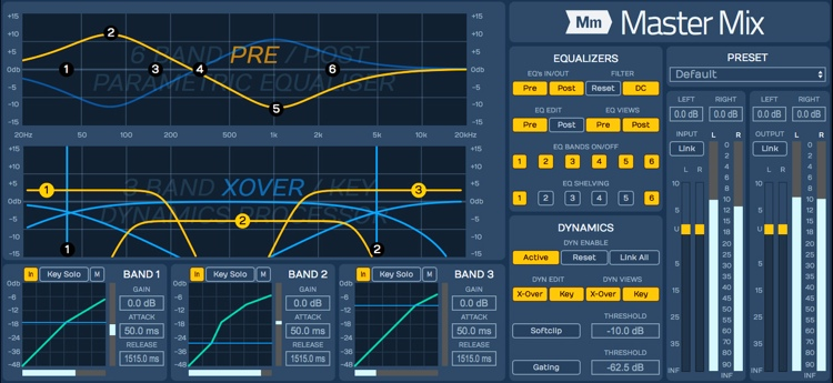 Tracktion Master Mix Stereo Mastering Plug-in image 1