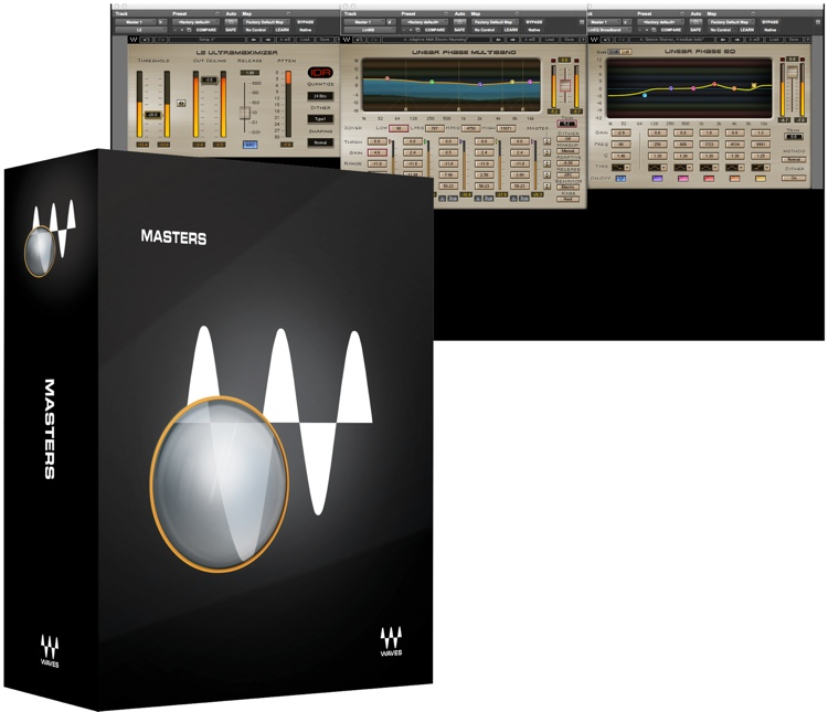 Waves Masters Plug-in Bundle for Academic Institutions image 1