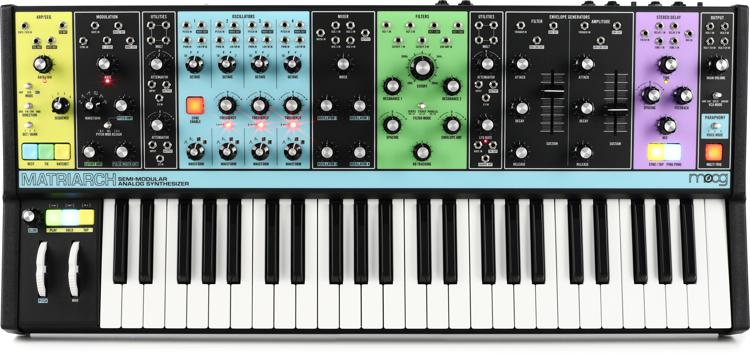 moog matriarch semi modular analog synthesizer and step sequencer sweetwater. Black Bedroom Furniture Sets. Home Design Ideas