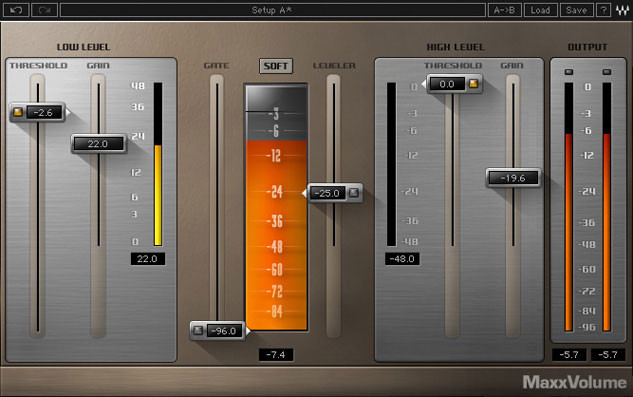 Waves MaxxVolume Plug-in for Academic Institutions - Native image 1