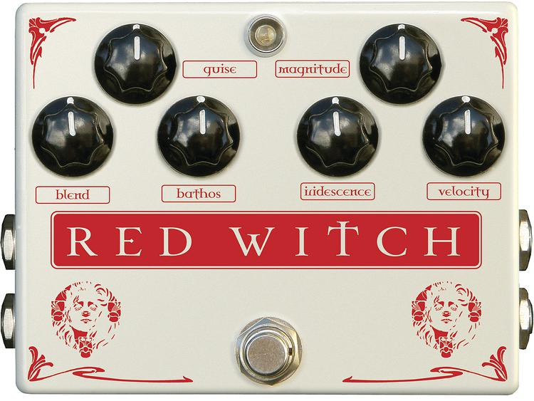 Red Witch Medusa Chorus and Tremolo Pedal image 1