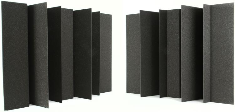 Auralex MegaLENRD Bass Traps - 2-Pack, Charcoal image 1