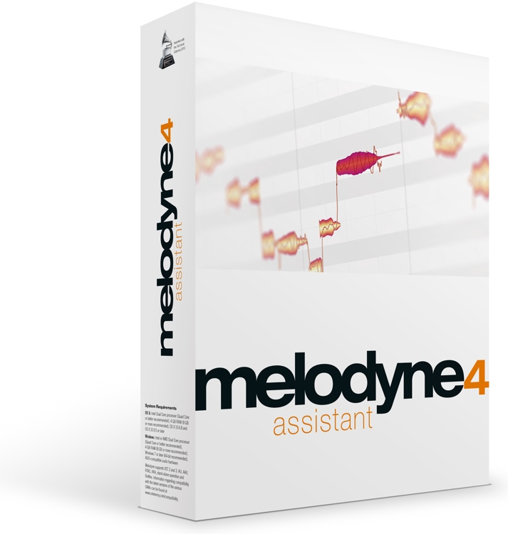 Celemony Melodyne 4 assistant - Upgrade from Melodyne essential image 1