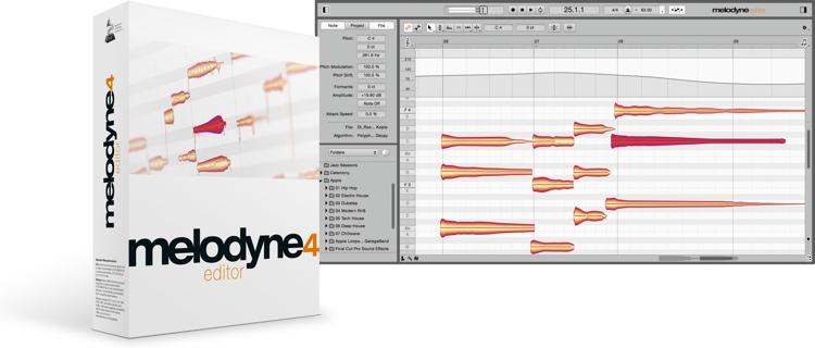 Celemony Melodyne 4 editor - Upgrade from Melodyne uno image 1