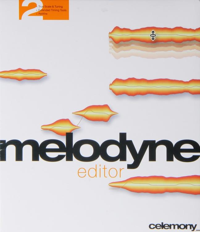 Celemony Melodyne Editor 2 Upgrade - from Melodyne Editor 1 image 1