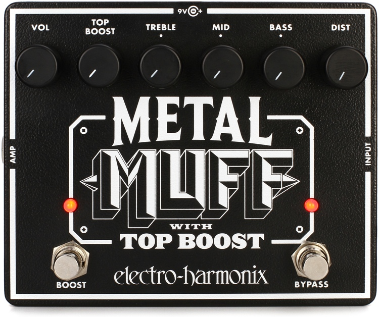 Electro-Harmonix Metal Muff Distortion Pedal with Mid Boost image 1