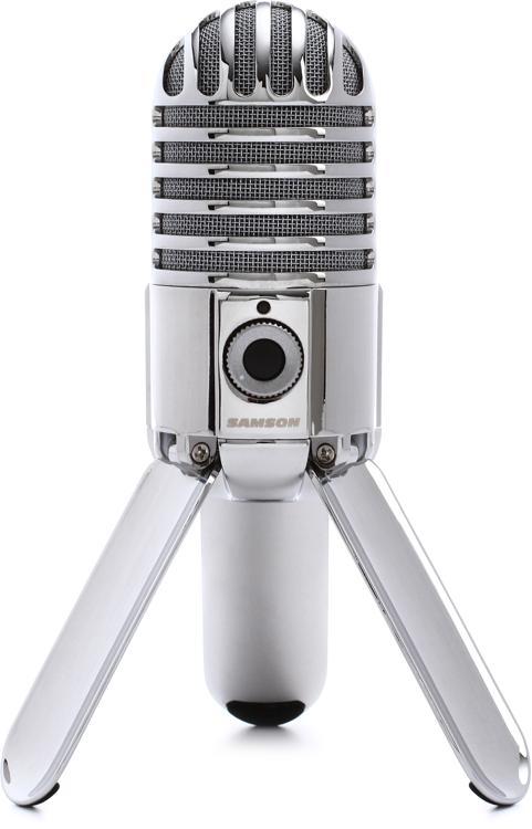 samson meteor mic desktop usb studio condenser microphone sweetwater. Black Bedroom Furniture Sets. Home Design Ideas
