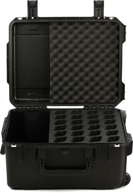 SKB iSeries Waterproof Mic Case - Holds 24 Mics w/Storage image 1