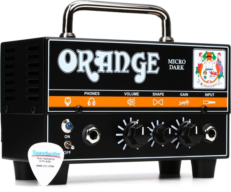 Orange Micro Dark 20-watt Hybrid Head image 1