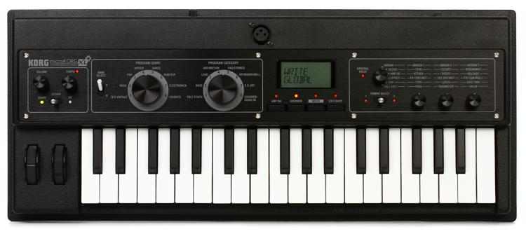 Korg microKORG XL+ Synthesizer with Vocoder image 1