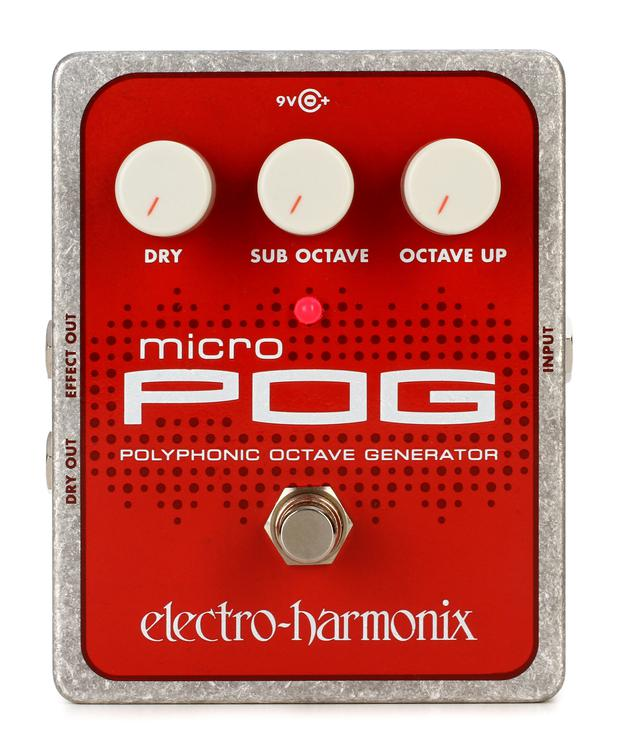 Electro-Harmonix Micro POG Polyphonic Octave Generator Pedal image 1