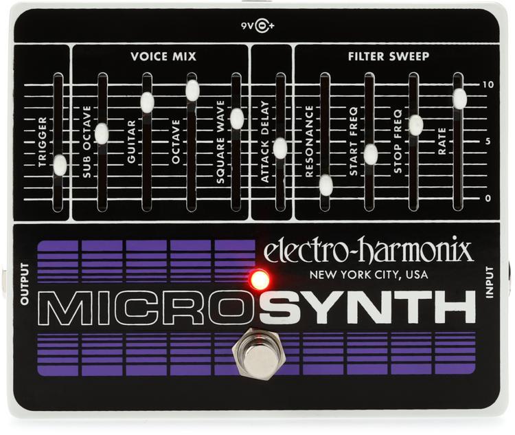 Electro-Harmonix Micro Synthesizer Analog Guitar Microsynth Pedal image 1