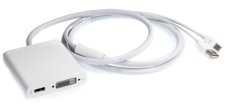 Apple Mini DisplayPort to Dual-Link DVI Adapter image 1