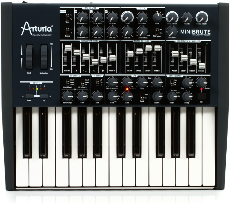 Arturia MiniBrute Analog Synthesizer image 1