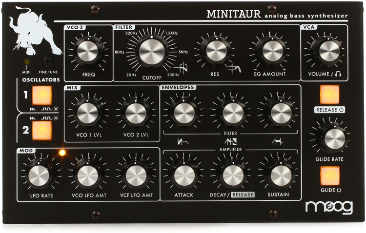 Moog Minitaur Analog Bass Synthesizer image 1