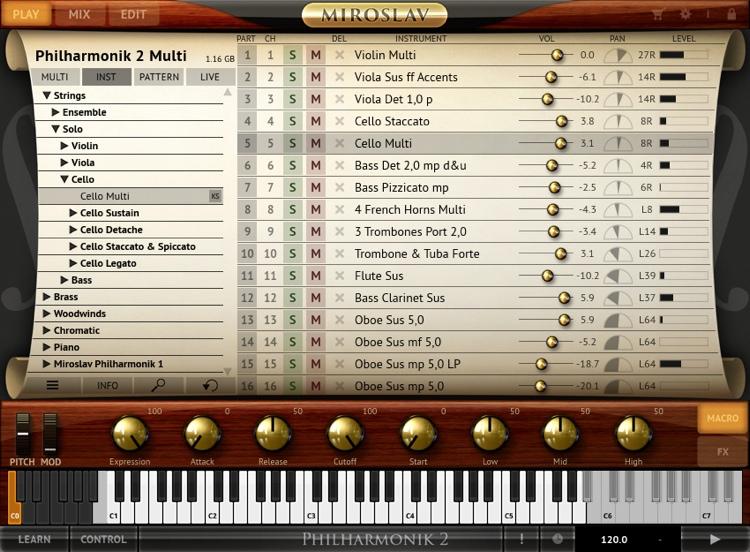 IK Multimedia Miroslav Philharmonik 2 CE Orchestral Software Instrument (download) image 1