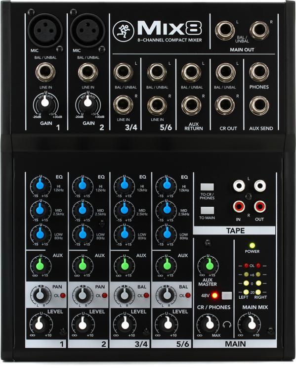 Mackie Mix8 Mixer image 1
