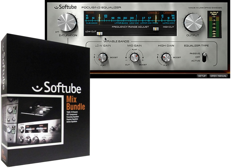 Softube Mix Bundle Plug-in Collection image 1