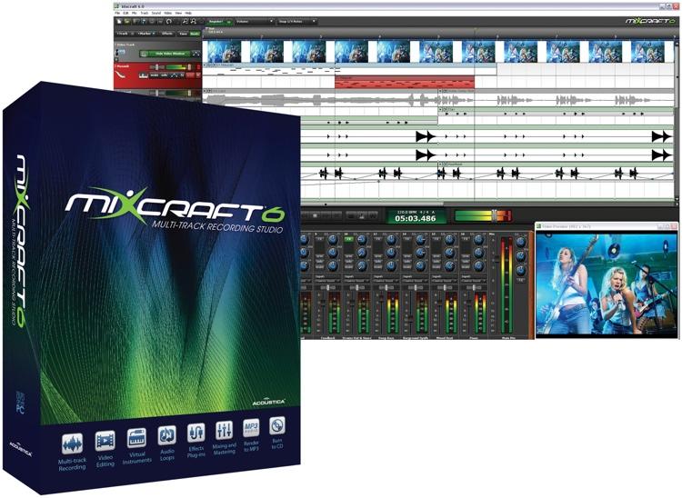 Acoustica Mixcraft 6 - Academic Version (boxed) image 1