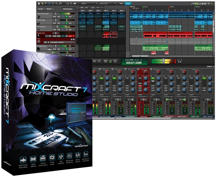 mixcraft 7 code