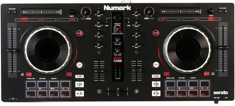 Resultado de imagem para numark mixtrack platinum