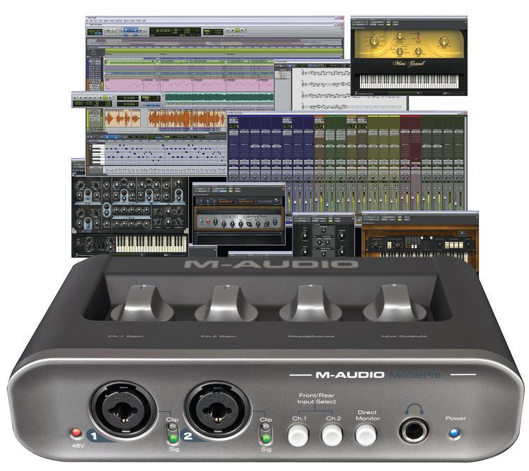 M-Audio Pro Tools MP + MobilePre image 1