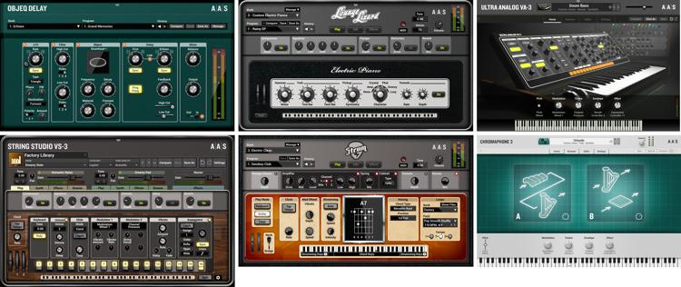Applied Acoustics Systems AAS Modeling Collection Virtual Instrument Bundle image 1