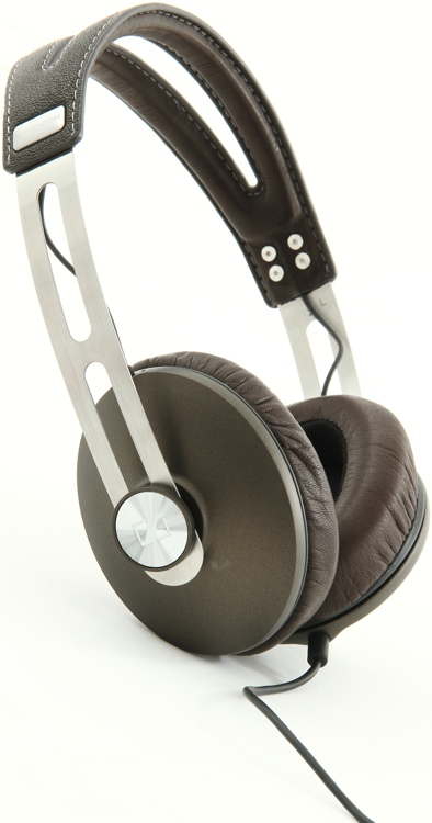 Sennheiser MOMENTUM Audiophile Headphones, Brown - Closed image 1