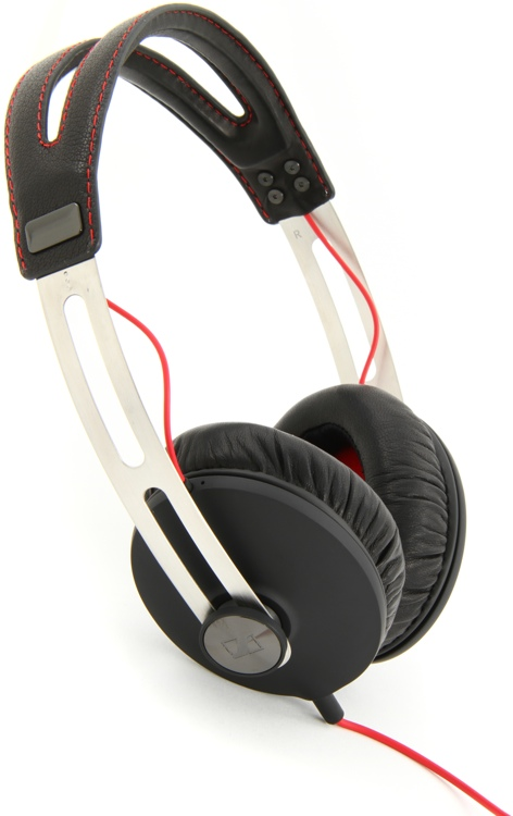 Sennheiser MOMENTUM Audiophile Headphones, Black - Closed image 1