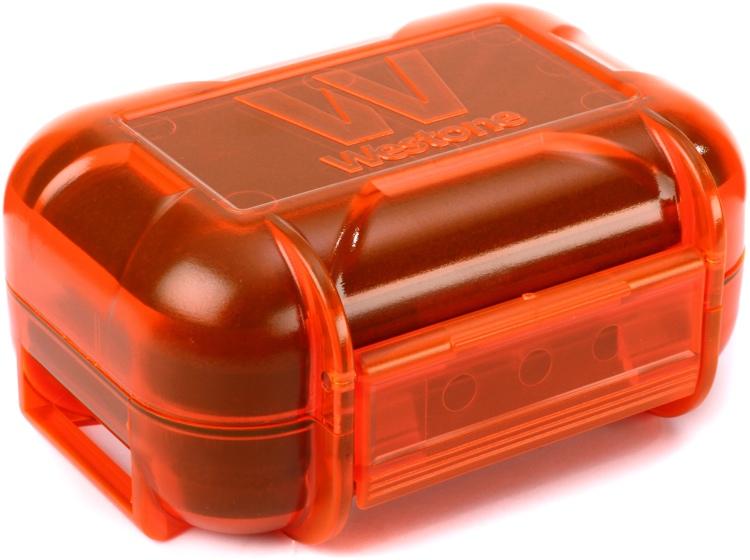 Westone Mini Monitor Vault II Earphone Case - Orange image 1