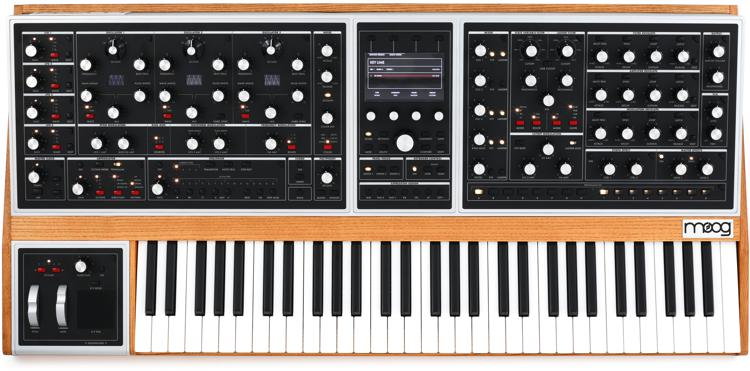Moog One 8 Voice Analog Synthesizer Sweetwater