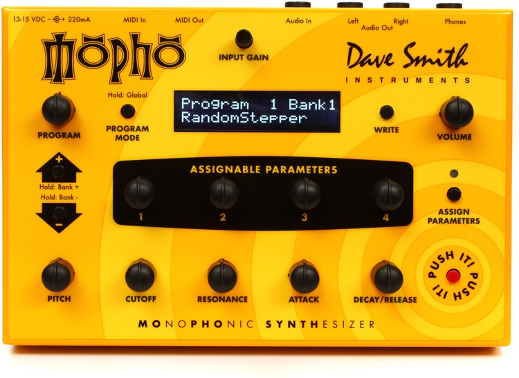 Dave Smith Instruments Mopho Analog Synthesizer image 1