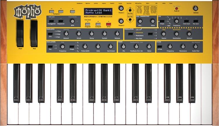 Dave Smith Instruments Mopho Keyboard 32-Key Analog Synthesizer image 1