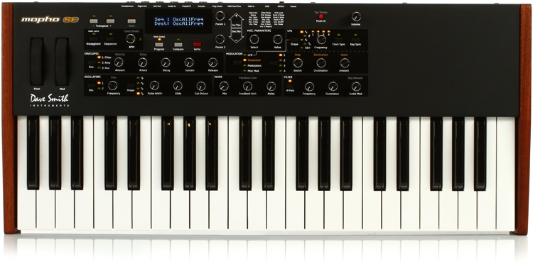 Dave Smith Instruments Mopho Keyboard Special Edition 44-Key Analog Synthesizer image 1