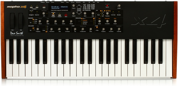 Dave Smith Instruments Mopho x4 4-Voice Analog Synthesizer image 1