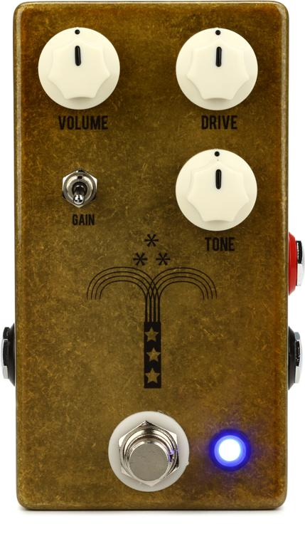 JHS Morning Glory V4 Transparent Overdrive Pedal image 1