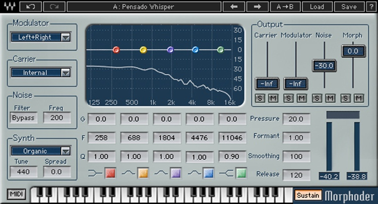 Waves Morphoder Plug-in image 1