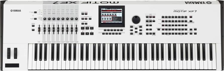 Yamaha MOTIF XF7 - Special Edition White image 1