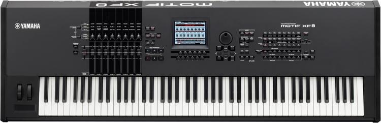 Yamaha MOTIF XF8 Synthesizer Workstation image 1