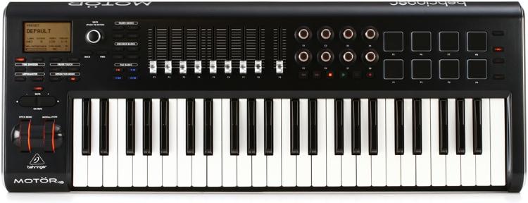 Behringer Motor49 Keyboard Controller image 1