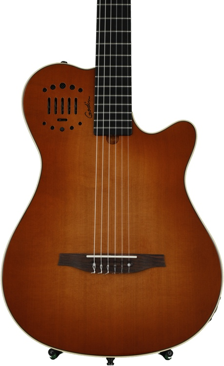 Godin Multiac Grand Concert Duet Ambiance - Lightburst High Gloss image 1