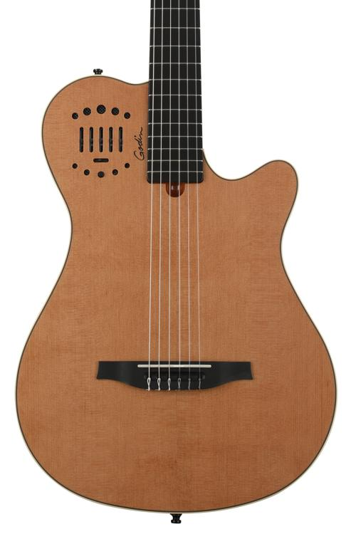 Godin MultiAc Grand Concert Duet Ambiance - Natural High Gloss image 1