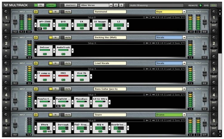 Waves MultiRack Plug-in Host image 1