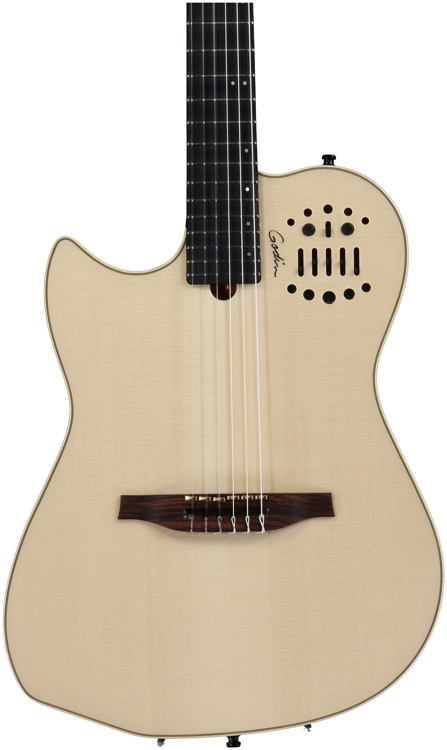 Godin MultiAc Nylon SA - Natural, Left Hand image 1